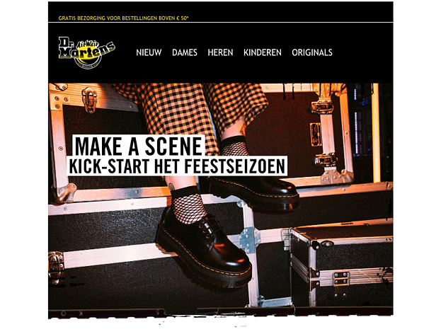eCommerce marketing strategy Dr Martens
