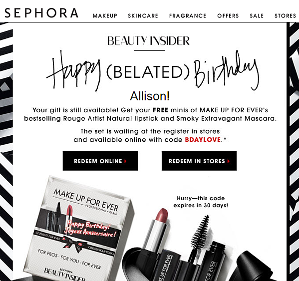 birthday sephora customer segmentation example