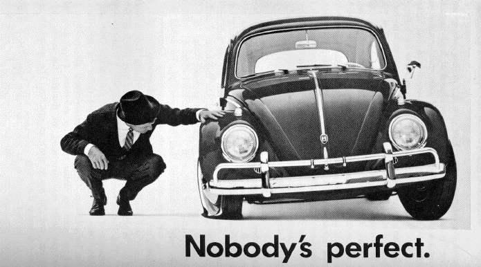 1950s Volkswagen Ad