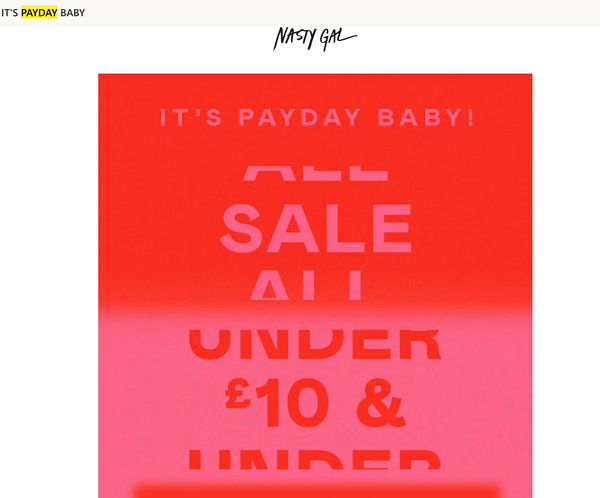 5 NastyGal payday customer segmentation example socio-economic status