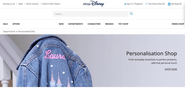Disney customer centric