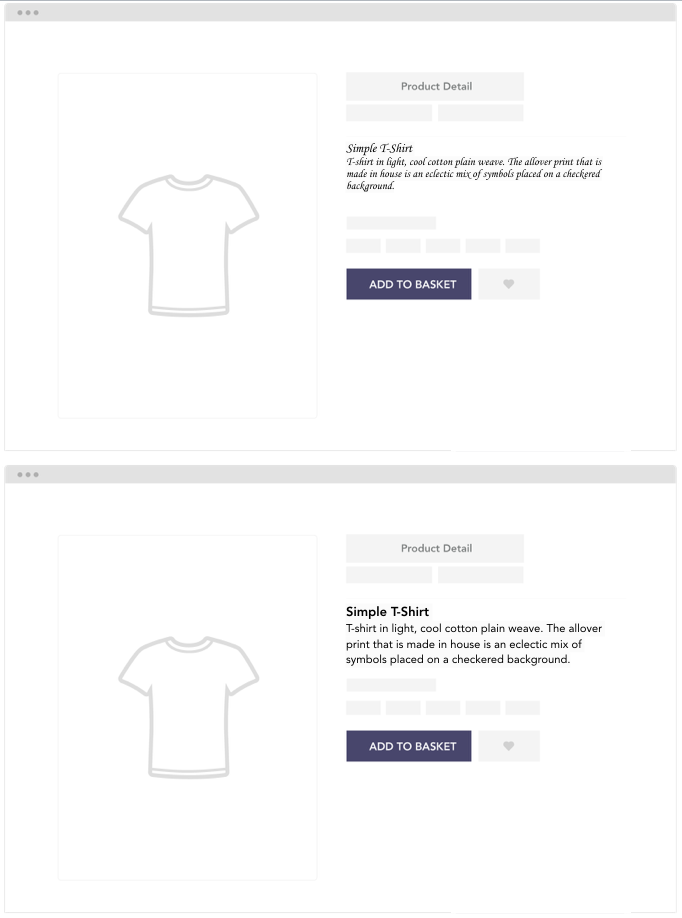 Font Fluency Product Display Page