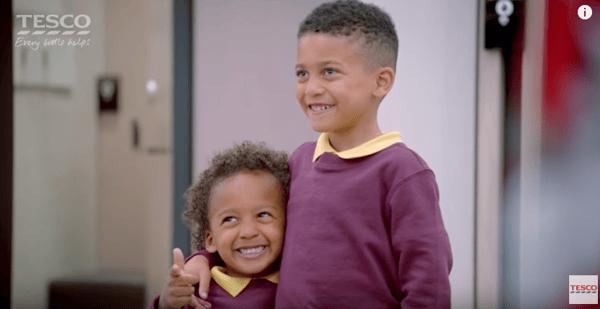 TESCO back to school ad