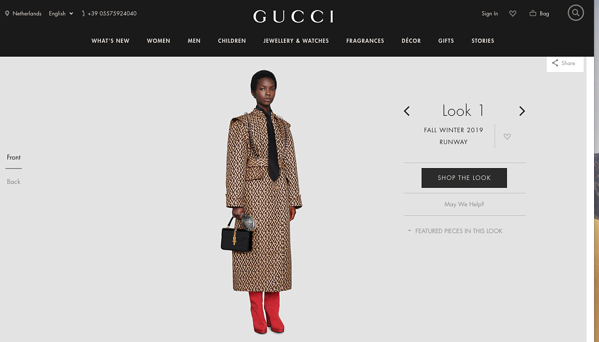 gucci persuasive pricing