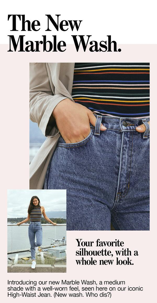behavioral segmentation examples high-waist jeans campaign