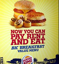 burger king ad product attributes and benefits
