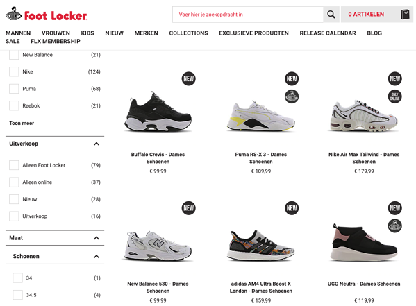 chief behavioral officer Foot Locker product tags