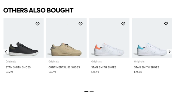 customer-centricity examples adidas others also bought