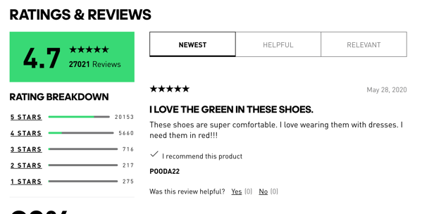 customer-centricity examples adidas reviews