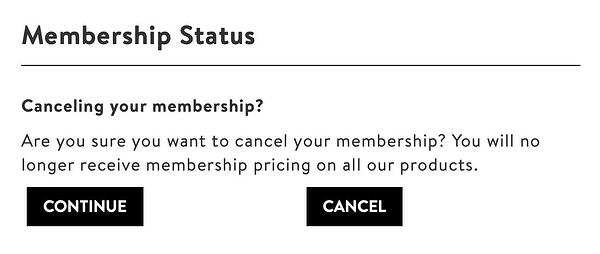 dark patterns membership confusing copy