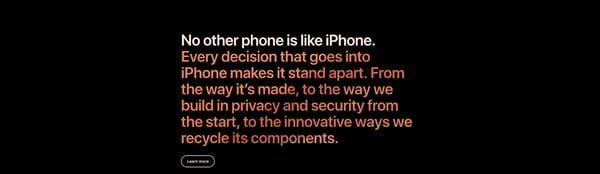 exclusivity image iphone