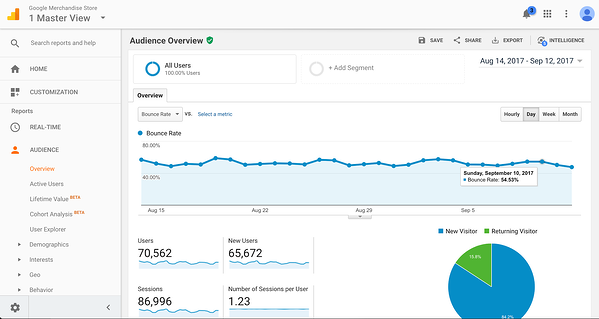 google analytics psychographic market research