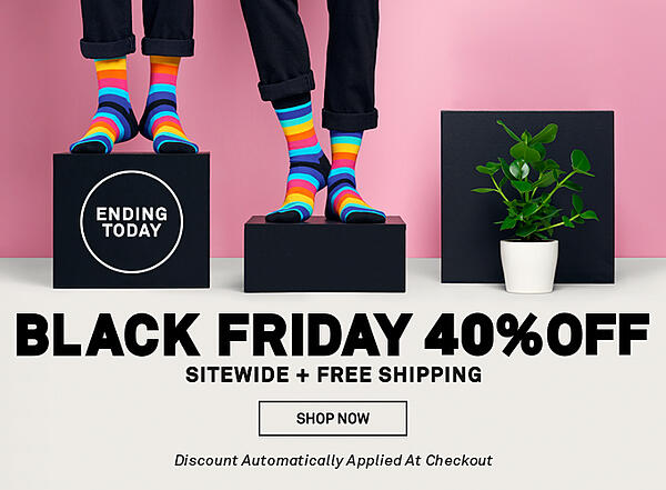 happy socks black friday