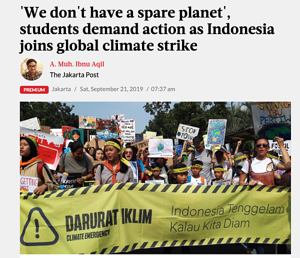 indonesia cliamte strikes