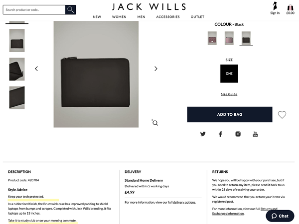 jack wills endowment effect
