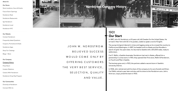 nordstorm customer centric