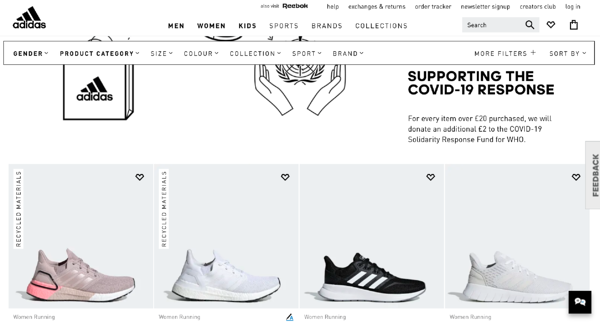 product attributes and benefits recycled product badge adidas
