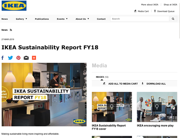 psychographic segmentation IKEA sustainability report