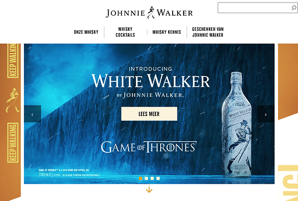 psychographic segmentation johnnie walker interest tribe