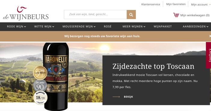 wijnbeurs retailers coping with covid