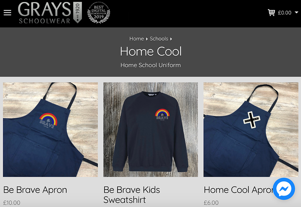 back to school marketing 2020 grays