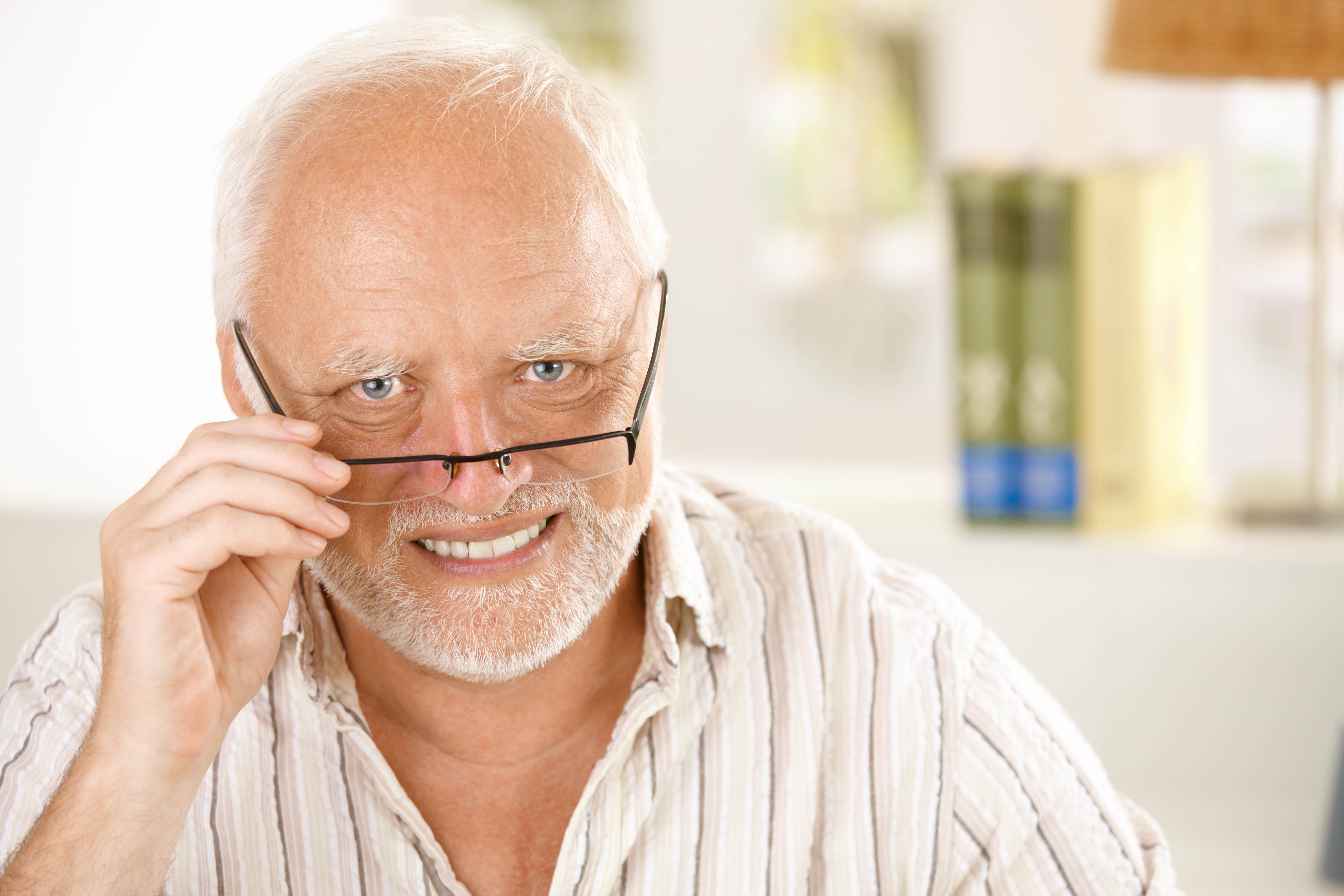 SHST Blogpost -Harold looking in camera